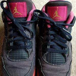 Air Jordan 4 Retro GG 'Denim' Big Girls' 7Y